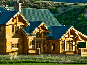 Honka Log Home